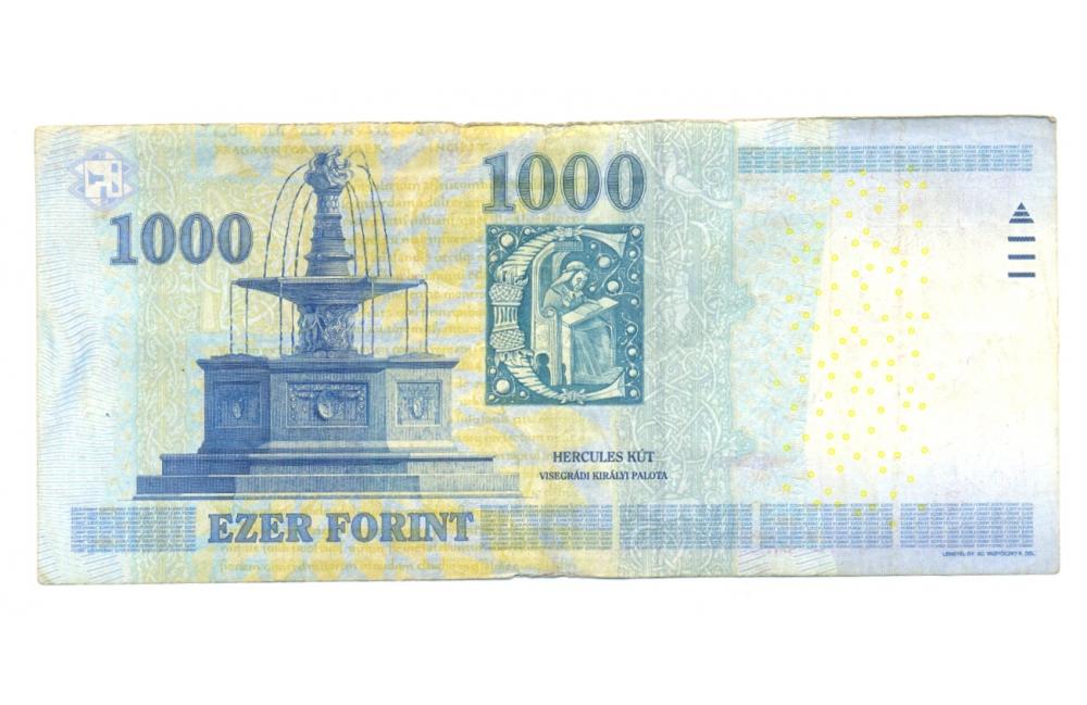 Billete de Hungría 25 Gulden 1989  - Numisfila