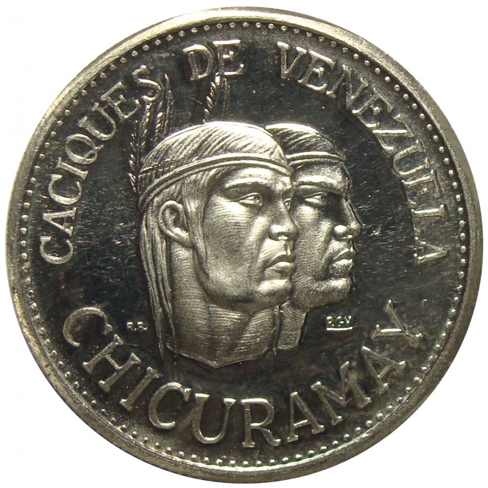 Medalla Chicuramay Caciques de Venezuela Italcambio  - Numisfila