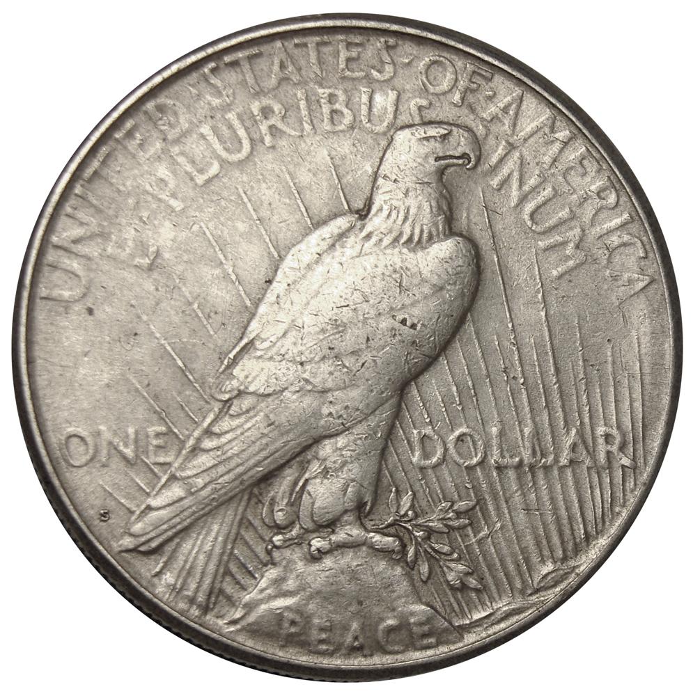 """Moneda Plata 1 Dólar 1922 """"Peace Dollar"""" Ceca """"S""""  - Numisfila"""