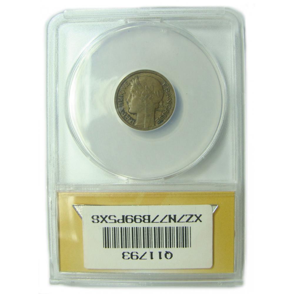 Moneda Francia 50 Centimes 1938 ANACS EF40  - Numisfila