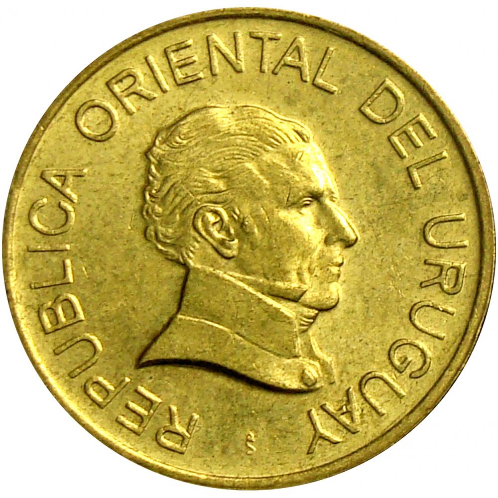 Moneda Uruguay 1 Peso Uruguayo 2007  - Numisfila